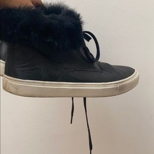 Vince leather sneakers